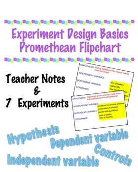 Experiment Design Flipchart Great Intro For Science Fair