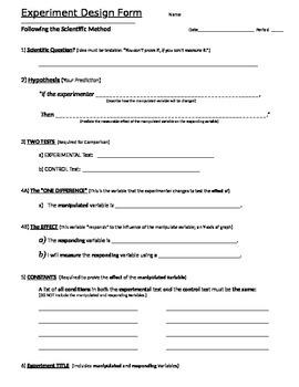 Experiment Design Forms (2)