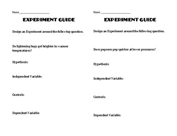 Experiment Guide