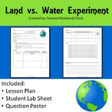 Experiment Land vs. Water