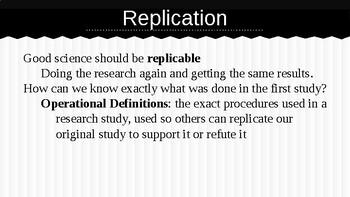 Experimental Design - AP Psychology
