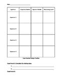 Experimental Design Answer Document (TEKS 5.6D)