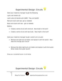 Experimental Design:  Circuits 5.6B