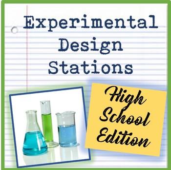 Experimental Design & Scientific Method Exploration Stations