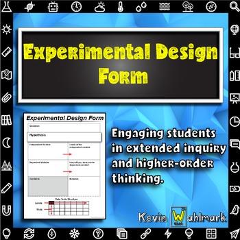 Experimental Design Form