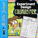 EXPERIMENTAL DESIGN SCIENCE COLOR BY NUMBER, QUIZ