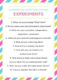 Experimental Design Questioning Poster
