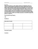 Scientific Method Experimental Design Scenario/Diagram: Co
