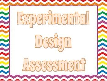 Experimental Design (Scientific Method Assessment)