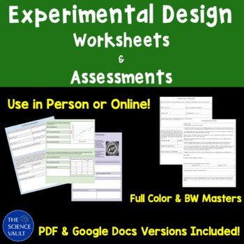 Scientific Method Assessments and Worksheets