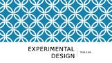 Experimental Design (TEKS 5.6D)