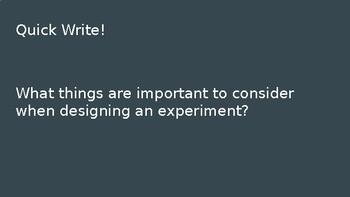 Experimental Design Vocab PowerPoint