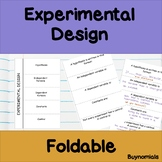 Experimental Design and Variables Foldable