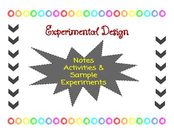 Experimental Design and the Scientific Method
