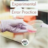 Experimental Error Practice
