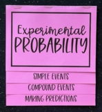 Experimental Probability (Foldable)