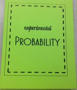 Experimental Probability Foldable