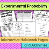 Experimental Probability Interactive Notebook Pages