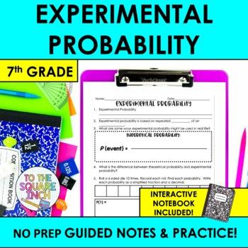 Experimental Probability Notes
