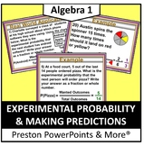 Experimental Probability and Making Predictions in a PowerPoint Presentation