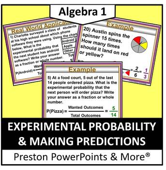 Experimental Probability and Making Predictions in a Power
