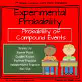 Experimental Probability of Compound Events - 7th Grade Probability