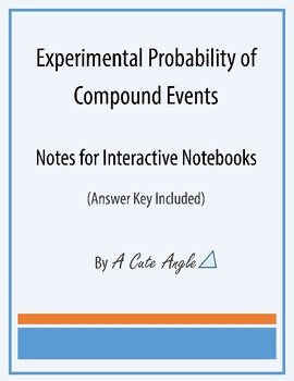 Experimental Probability of Compound Events Notes