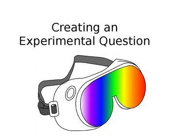 Experimental Questions and Hypothesis PowerPoint