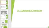 Experimental Techniques (IGCSE Combined Science)
