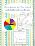 Experimental and Theoretical Probability Station Activity