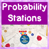 Experimental and Theoretical Probability Stations