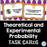 Experimental and Theoretical Probability Task Cards: 7.SP.6