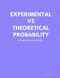Experimental vs. Theoretical Probability (simple event)