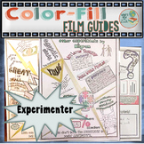 Experimenter Color-Fill Film Guide Doodle Notes