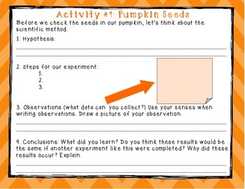Experimenting w/ PUMPKINS! A Science Unit Exploring the Pumpkin