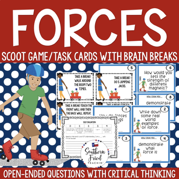 Forces Scoot Game/Task Cards