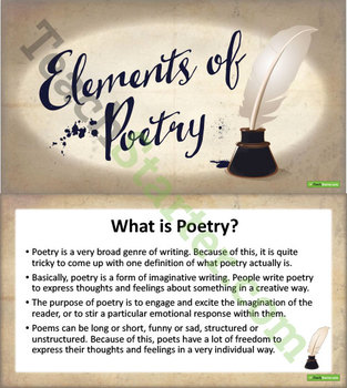 Experimenting with Poetry Unit Plan – Year 5 and Year 6