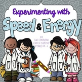Experimenting with Speed and Energy {NGSS aligned 4-PS3-1 and 3} {science}