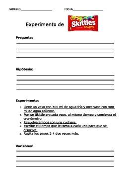 Experimento de Skittles