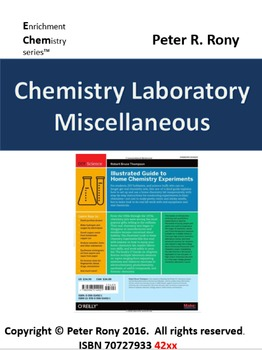 Chemistry Laboratory: Miscellaneous (Enrichment chemistry Series)
