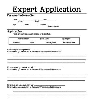 Expert Application