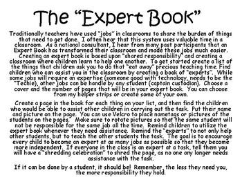 Expert Book