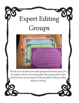 Expert Editing Groups