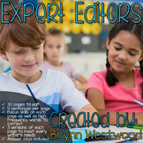 Expert Editors-Practice Using Editing Marks and Correcting Sentences