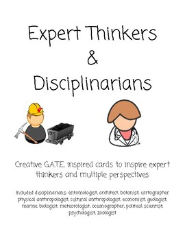 Expert Thinkers & Disciplinarians