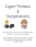 Expert Thinkers & Disciplinarians