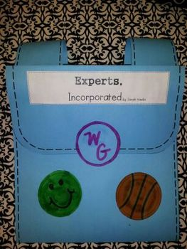 Experts, Incorporated - Unit 1 Week 2 - 4th Grade