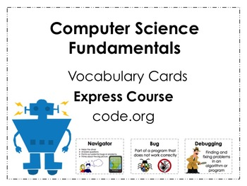 Expess Course code.org Vocabulary Posters
