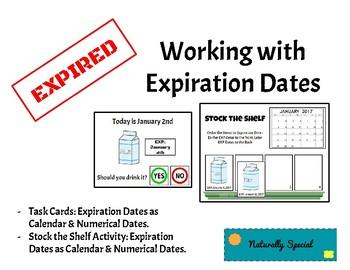 Expiration Dates Work Task