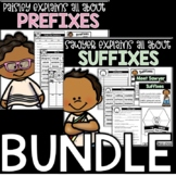 Prefixes and Suffixes Activities Distance Learning Home School Independent Pack